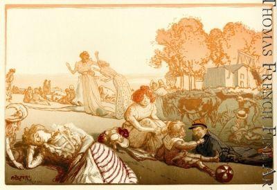Bucolique Moderne by Auguste Louis Lepere