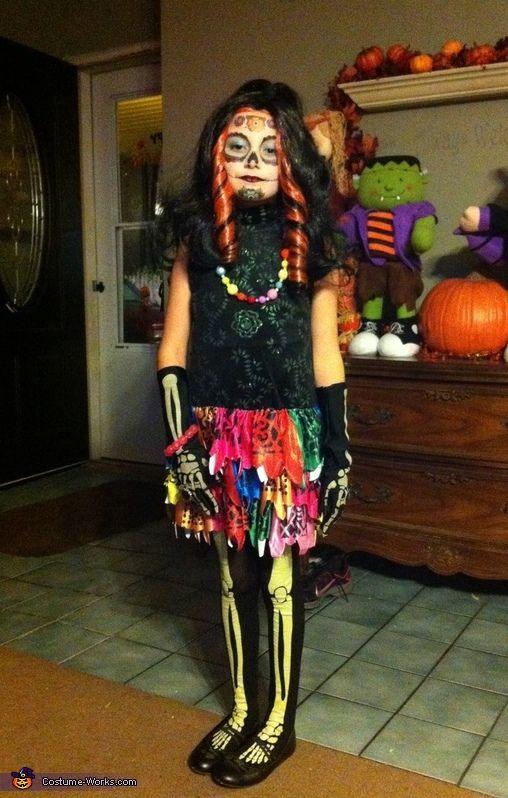 skelita calaveras halloween costume contest via costume_works - Skelita Calaveras Halloween Costume