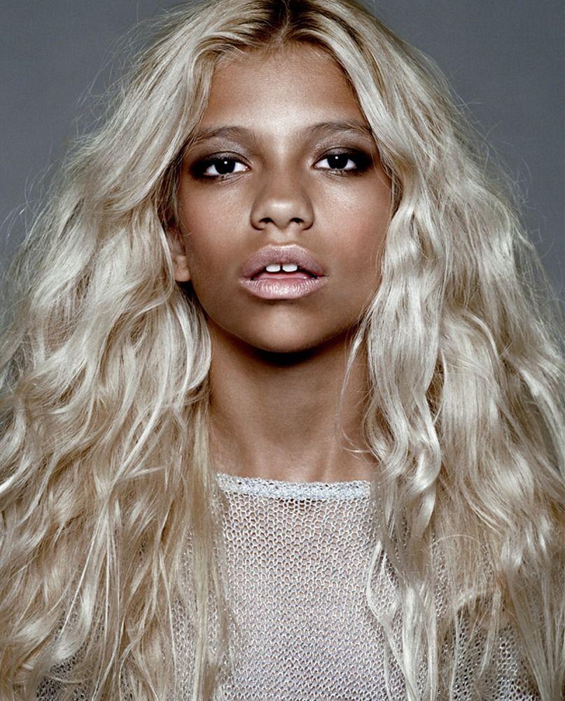 Whaaaaa lemme get the bleach victoria brito a natural blonde