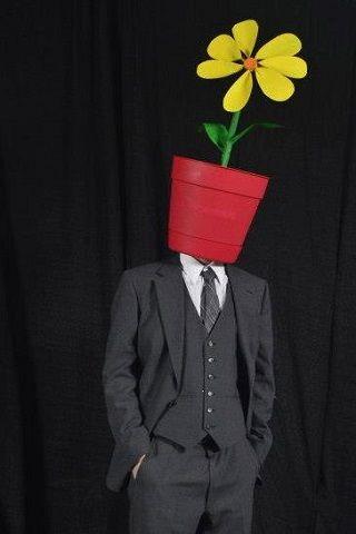 ハロウィーン  花の人