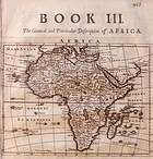 Africa - Old Map