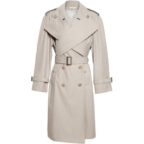Wrap Front Trench Coat - Outerwear - womens JW ANDERSON