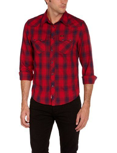Basic Street  Lee - rider - chemise - homme - coupe droite Lee, http://www.amazon.fr/dp/B00CM8K62A/ref=cm_sw_r_pi_dp_lAmisb1X5BS25