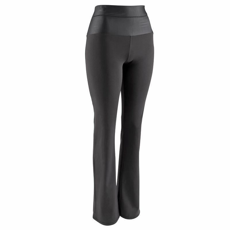 498171ec5a32d Legging regular effet ventre plat SHAPE+ fitness femme noir DOMYOS