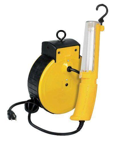 Professional Fluorescent Retractable Reel Garage Shop Work: Alert Stamping 3230EF Fluorescent Reel Light By Alert