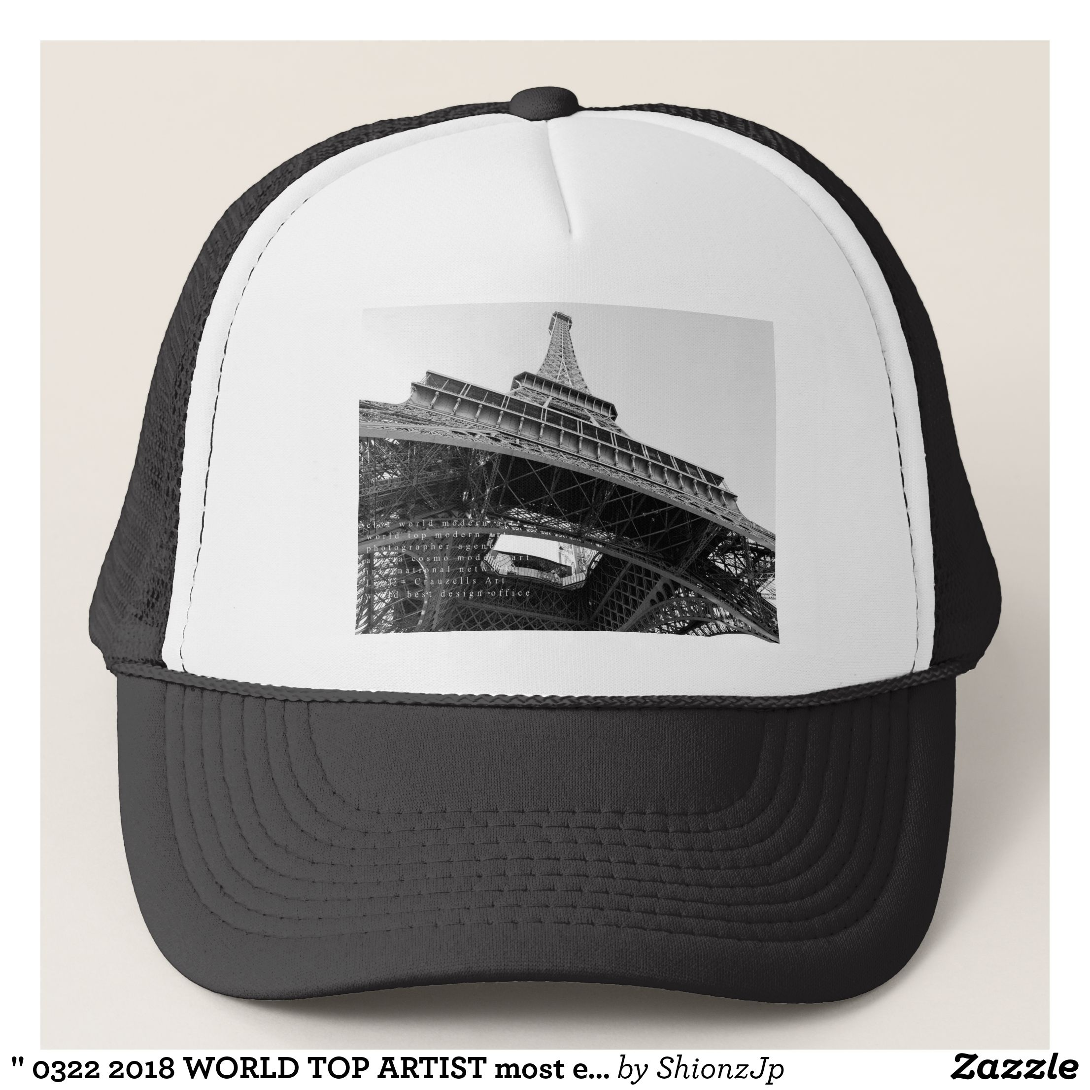 "3222018 WORLD TOP ARTIST most expensive art 70 Trucker Hat - Fashionable  Urban And Outdoor Hunter. "" b181bff33e5"