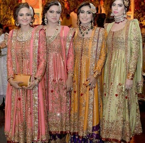 Guests At The Hyderabadi Wedding Bunto Kazmi Clothes Wedmegood