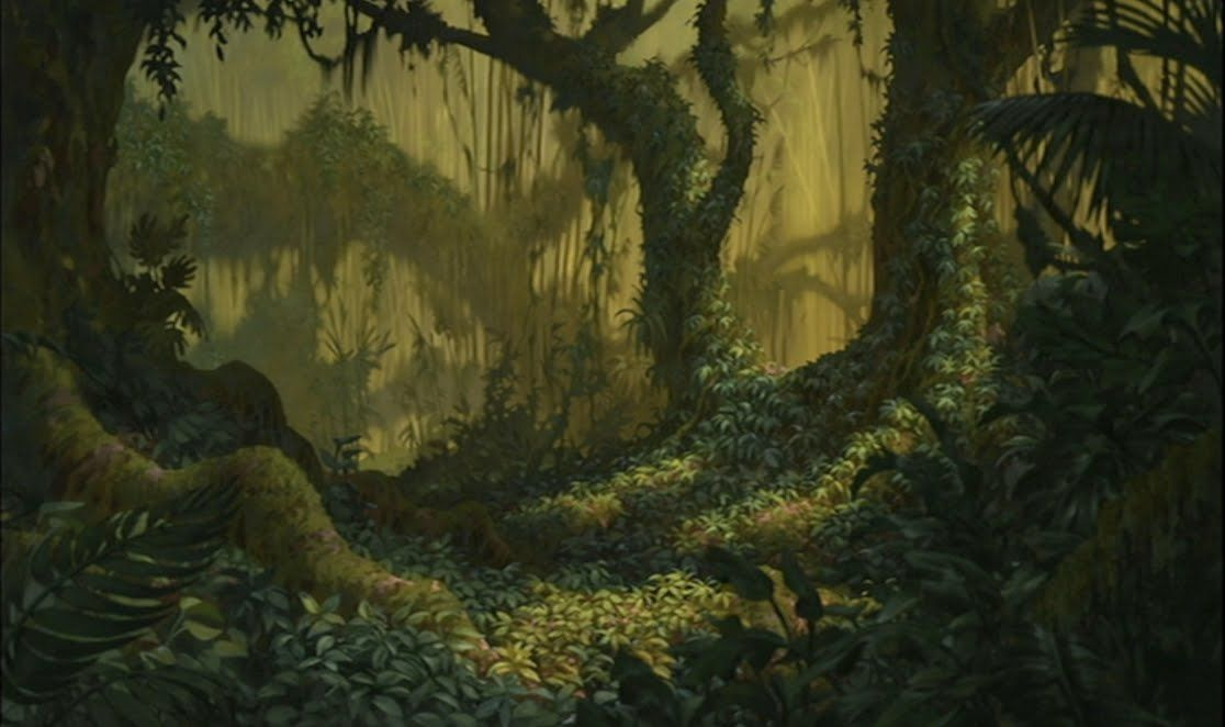 Animation backgrounds more from tarzan jungle - Tarzan wallpaper ...