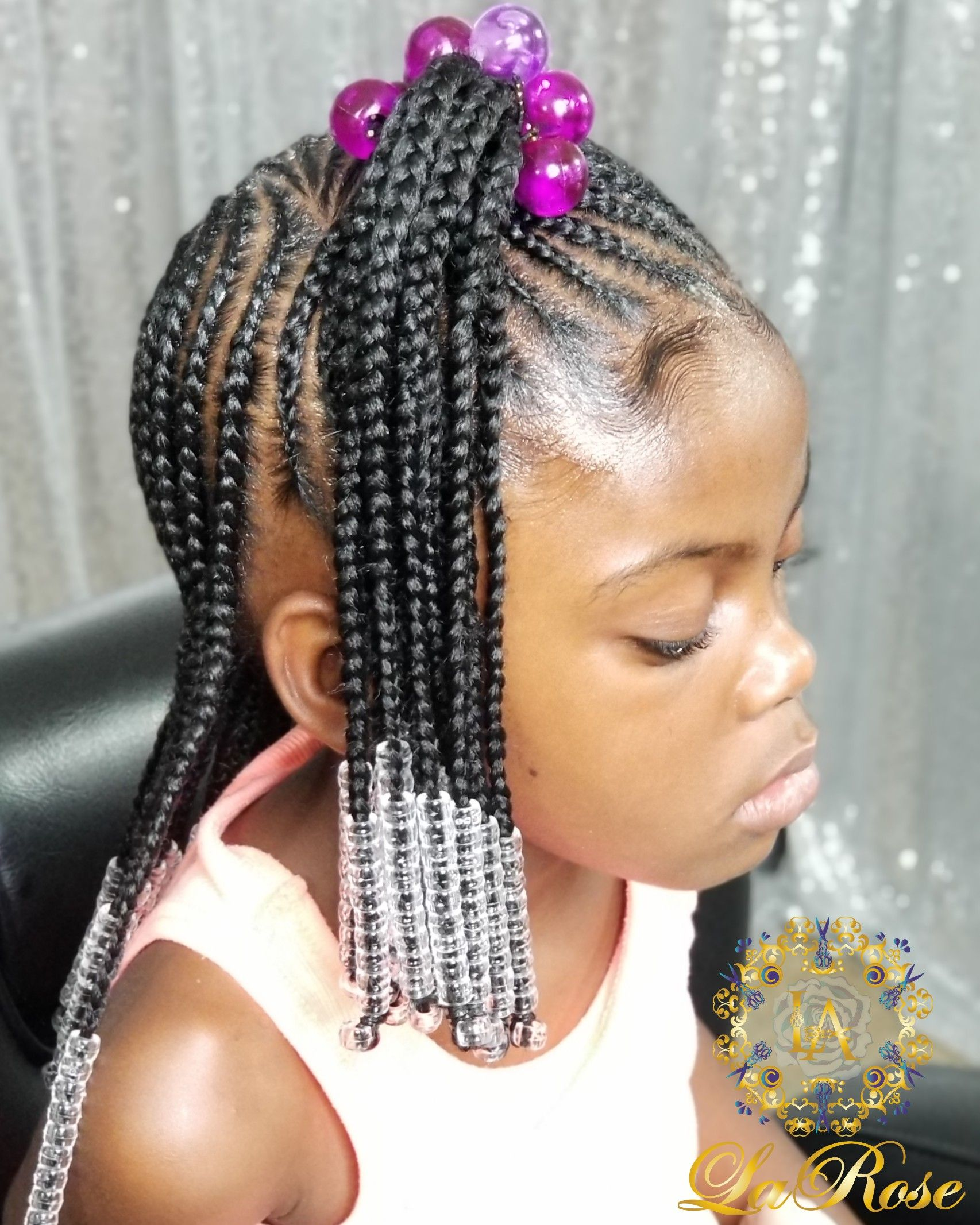 Aniyahp47 Braids For Kids Braided Half Up Crochet Braids For Kids