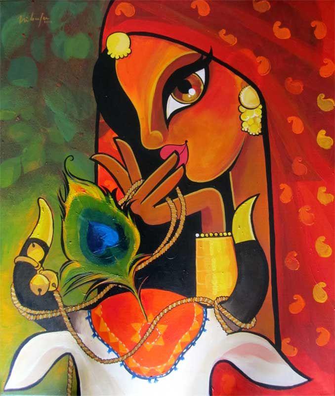 pepup street, radha, hindu mythology, India, contemporary art, pep ...