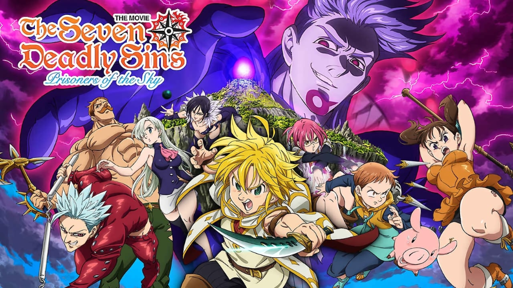 Assistir Filme Os Sete Pecados Capitais Prisioneiros Dos Ceus Online Nanatsu Sete Pecados Capitais Pecados Capitais