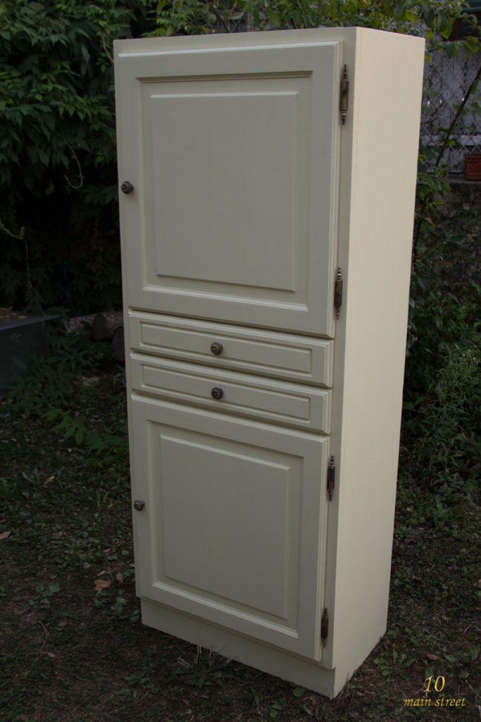 Rénover Un Meuble En Bois Verni Usé Une Armoire Pour Le Salon - Renover un meuble en bois