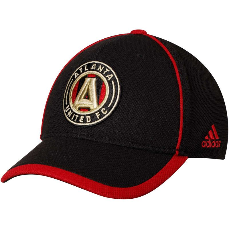 cheap for discount d2688 b6c98 Atlanta United FC adidas Cut and Sew Structured Adjustable Hat – Black