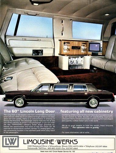 1988 Lincoln 60″ Long-Door Limousine