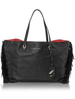 DvF Sutra Large Ready to Go Leather Fringe | Piperlime