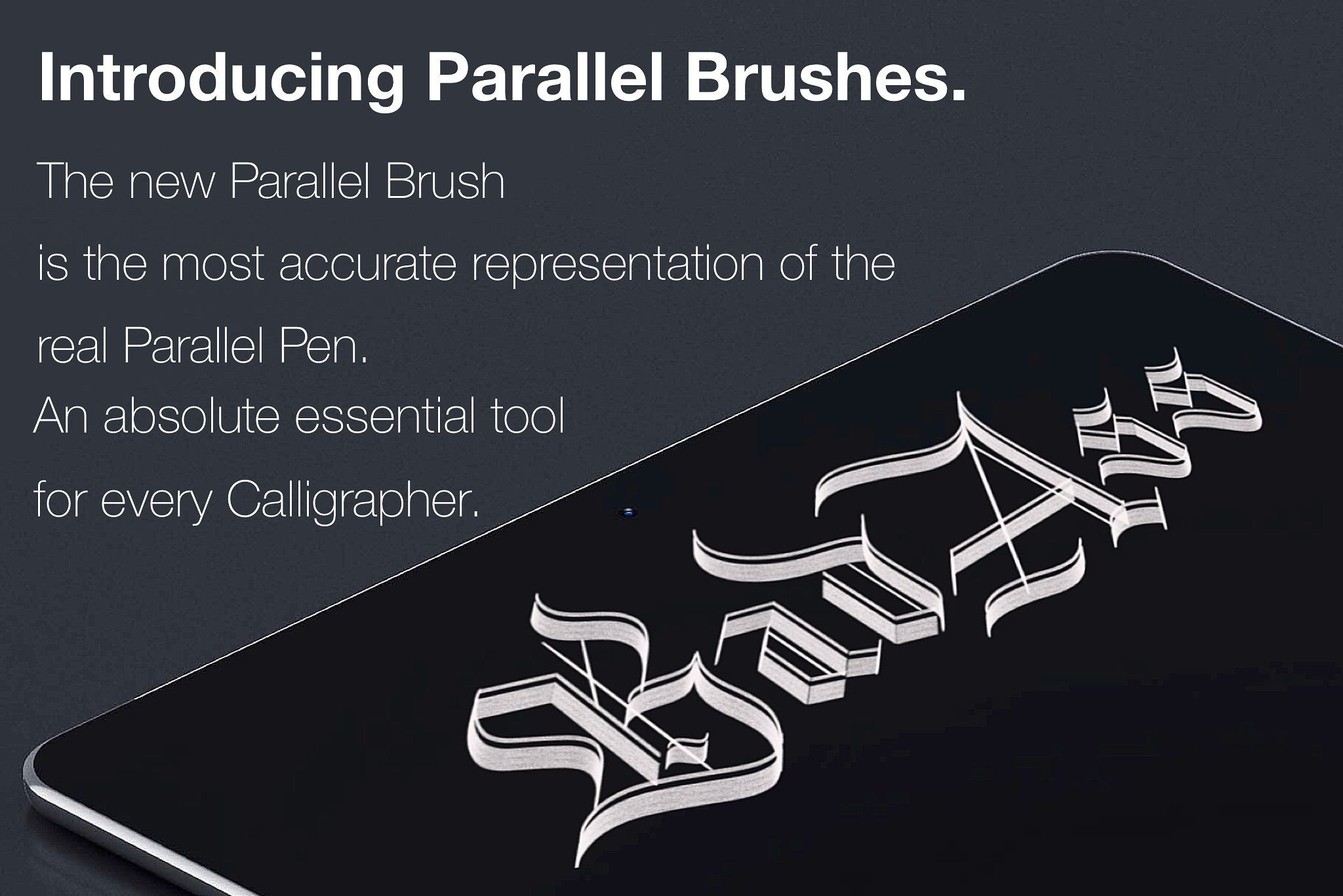 Procreate Parallel Brushes! #pressure#Pencil#Apple#sensitive