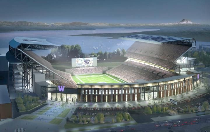 Husky Stadium Football Stadiums University Of Washington University Of Washington Huskies