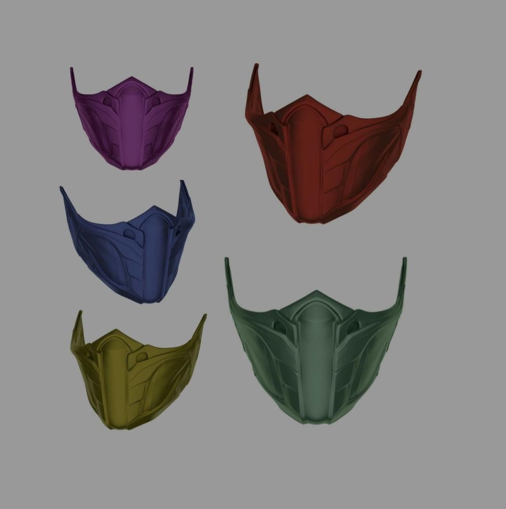Jade Skarlet Kitana Mileena Mask For Face Mortal Kombat 9 11 3d Print Model Mortal Kombat Mortal Kombat Costumes Comic Con Costumes