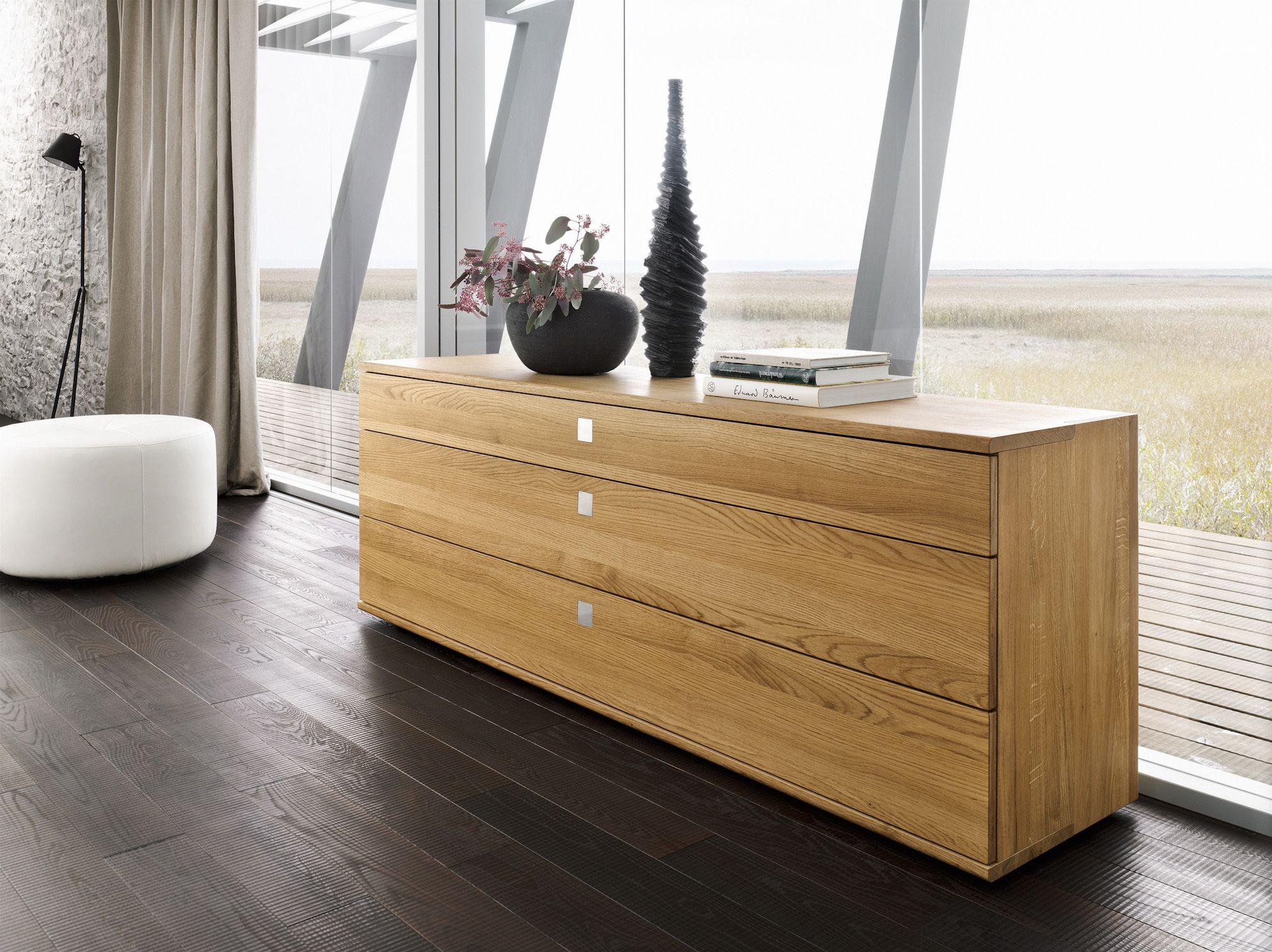 Kommode | Sideboard | Holz | Grifflos | Für Ess  Oder Schlafzimmer