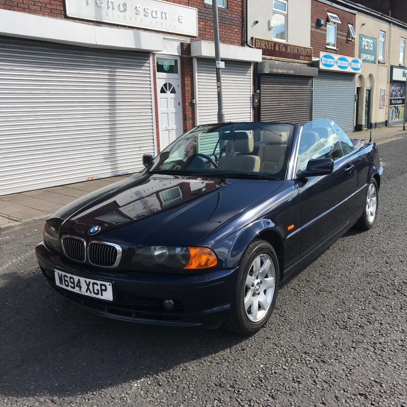 2000 Bmw 323ci Coupe: 2000 BMW 323CI AUTO CONVERTIBLE BLUE