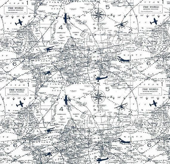 Window valance premier navy air traffic map aviation world map window valance premier navy air traffic map aviation world map blue white premier prints 50x16 inches or 50x18 inches on etsy 2295 gumiabroncs Gallery