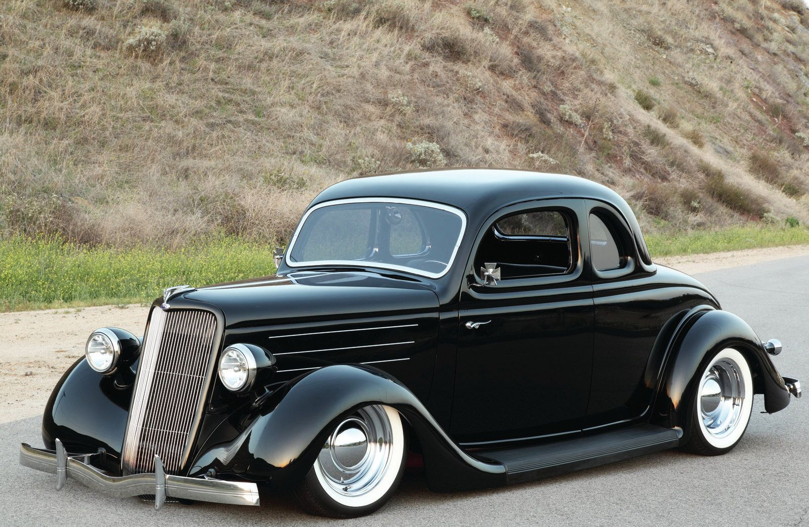 Classic Ford Muscle Cars | 1935 ford custom coupe vehicles 1935 ford
