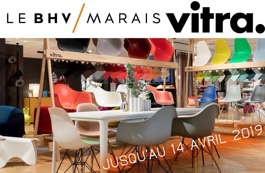 Premier Pop Up Vitra Au Bhv Marais Pop Up Magasin Paris Mobilier
