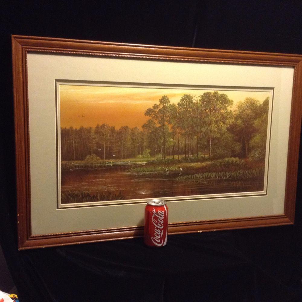 Robert butler wood ibis point highwaymen signed artist