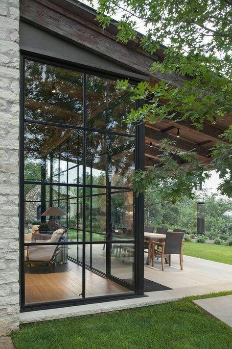 Casagiardino Factory Style Window Wall Design House Plans