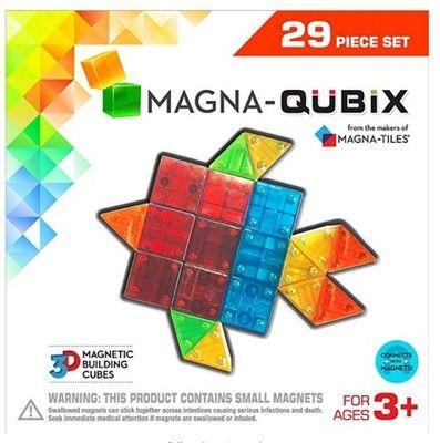 MAGNA-QUBIX 29pc Set #QUBIX, #MAGNA, #Set Holiday Decors