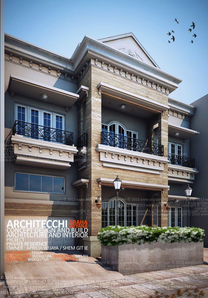 Aprilia House u2013 Architecture Neo Classic Concept