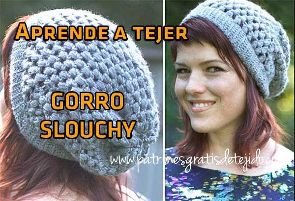 Aprende a tejer gratis online | Crochet y Dos Agujas | Pinterest ...