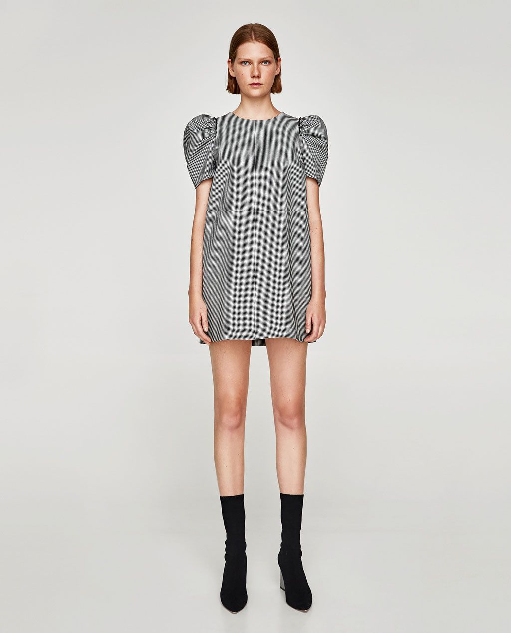 ZARA - WOMAN - FULL SLEEVE DRESS  Winter mode outfits, Overall