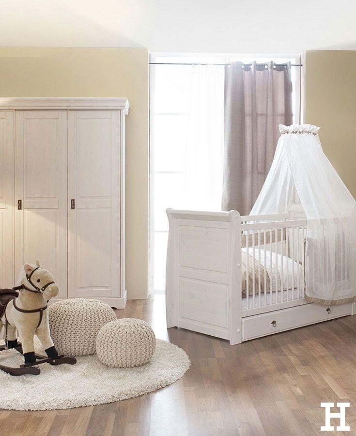 Unser Babyzimmer Marie aus hochwertigem KieferMassivholz