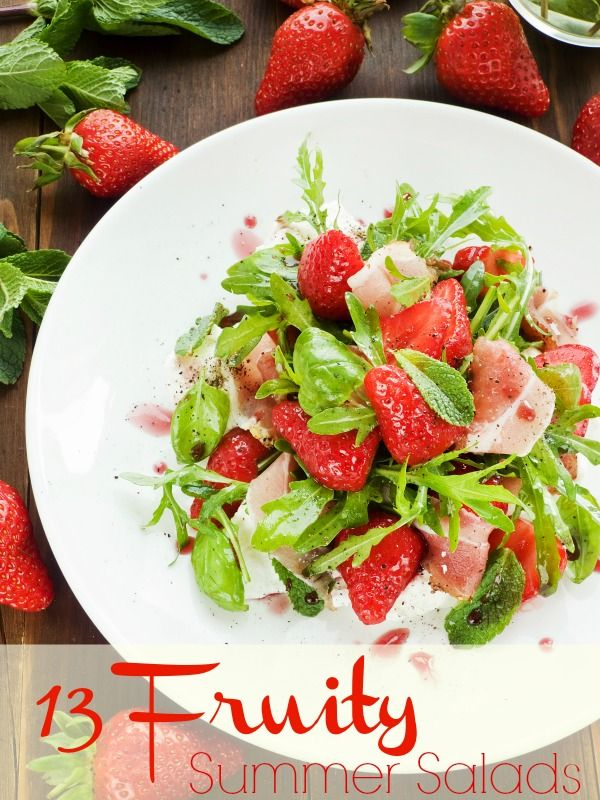 13 Fruity Summer Salads