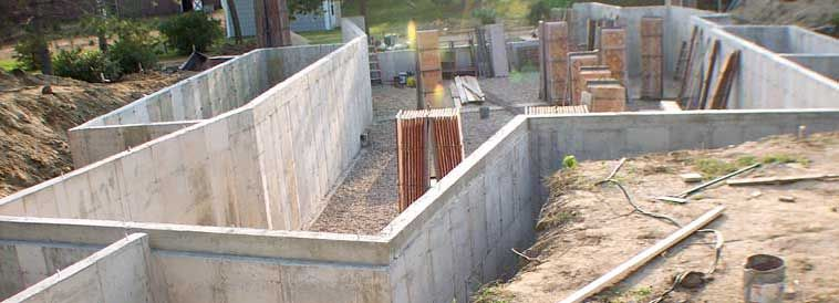 Related Image Foundation Laid Concrete Wall Concrete Poured