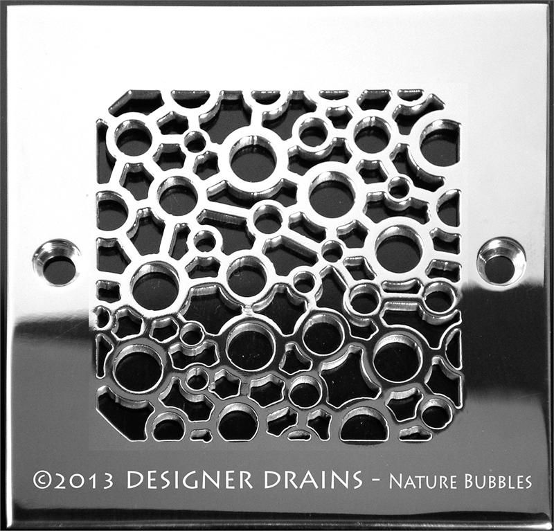 4 25 Square Drains Plumbing Fixtures Bath Accessories