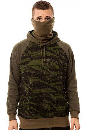 9d383cba The Kato Ninja Hoodie in Tiger Stripe Camo French Terry by ARSNL ...