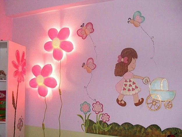 Decorazioni Per Camerette Per Bambini : Decorazioni per le pareti della cameretta dei bambini