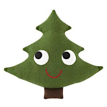 Holiday Decor Plush Christmas Tree in Holiday 2012 from The Land of