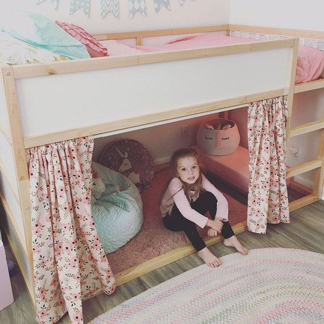 Photo of Playhouse for Ikea Kura Bunk Bed