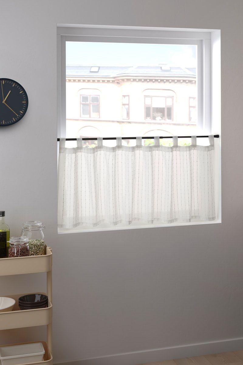 Idamarie Gardine Weiss In 2019 Home Decor Decor Valance Curtains