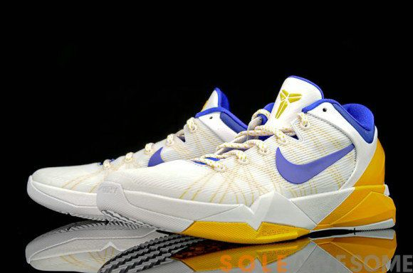 buy popular e8c52 e4bd1 Free Shipping Only 69 Nike Zoom Kobe VII System Lakers Home