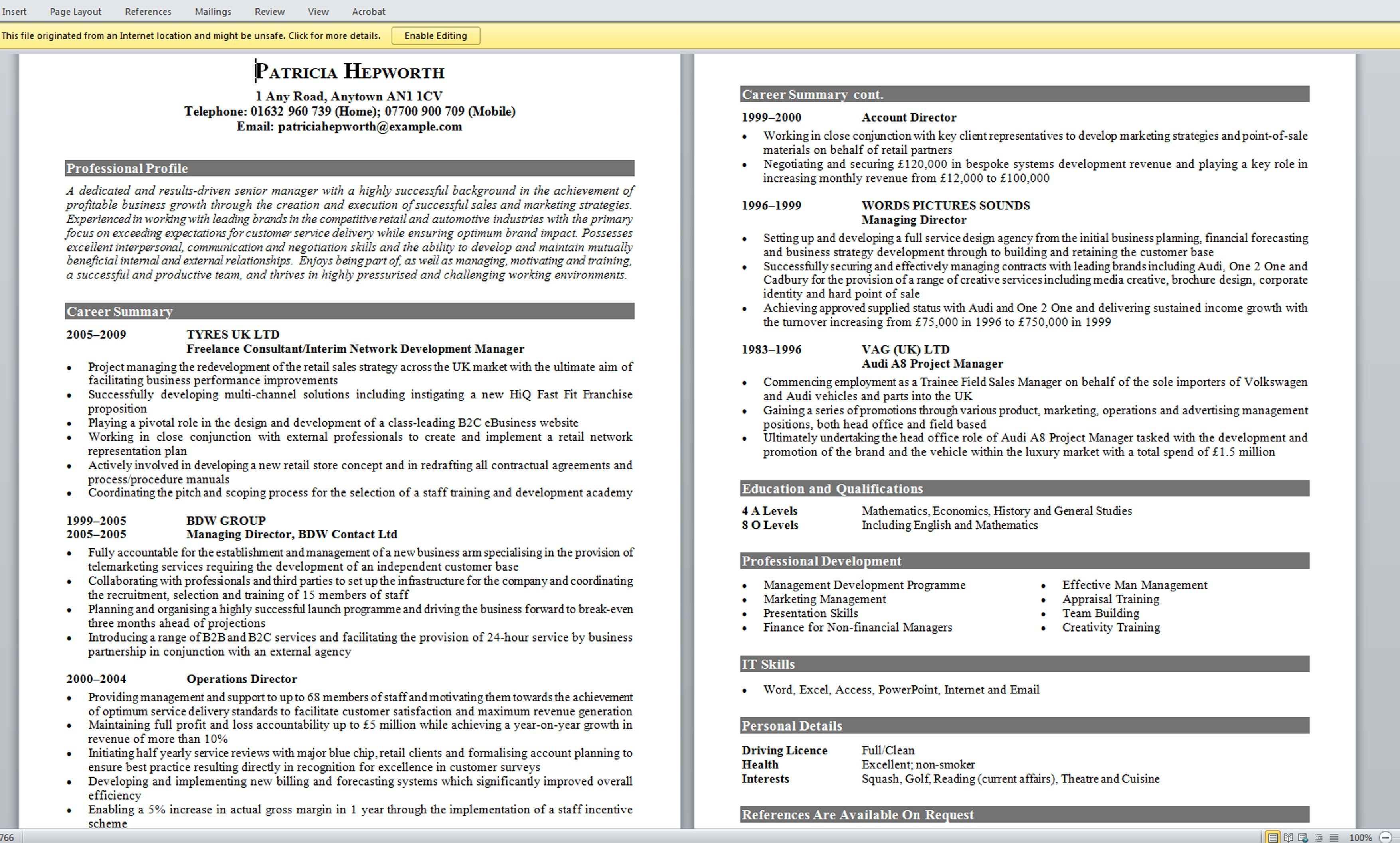 What Should A Good Resume Look Like Interesting Design Ideas Sample Good Resume Image Gallery Customer .