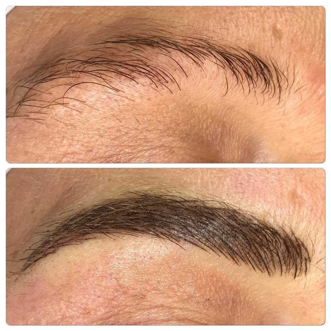 Client With Alopecia Microblading Permanent Makeup Pinterest