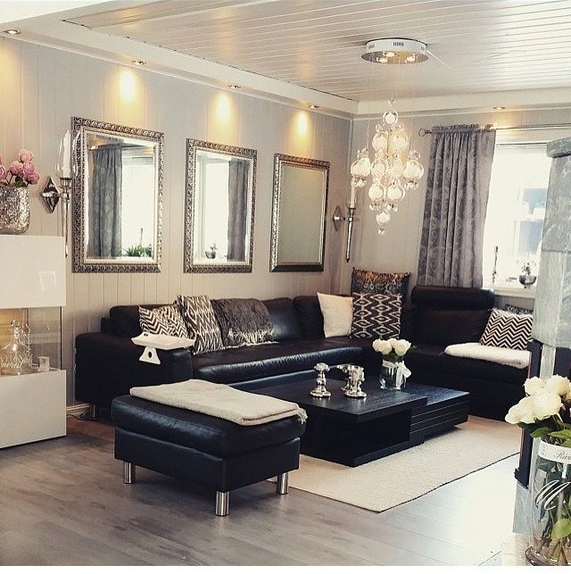 Pin by GlamFashionLuxe on D e c o r | Home living room ...