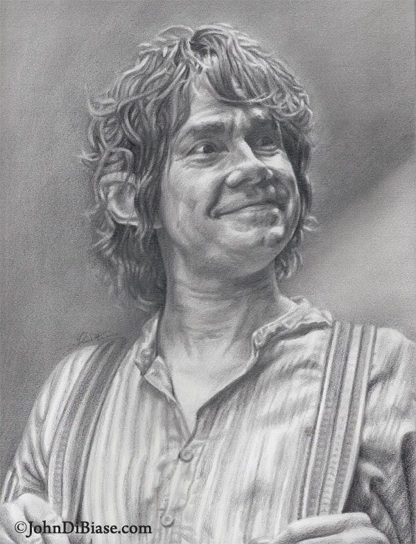 10 Cool Hobbit Fan Art Creations Bilbo Baggins Pencil