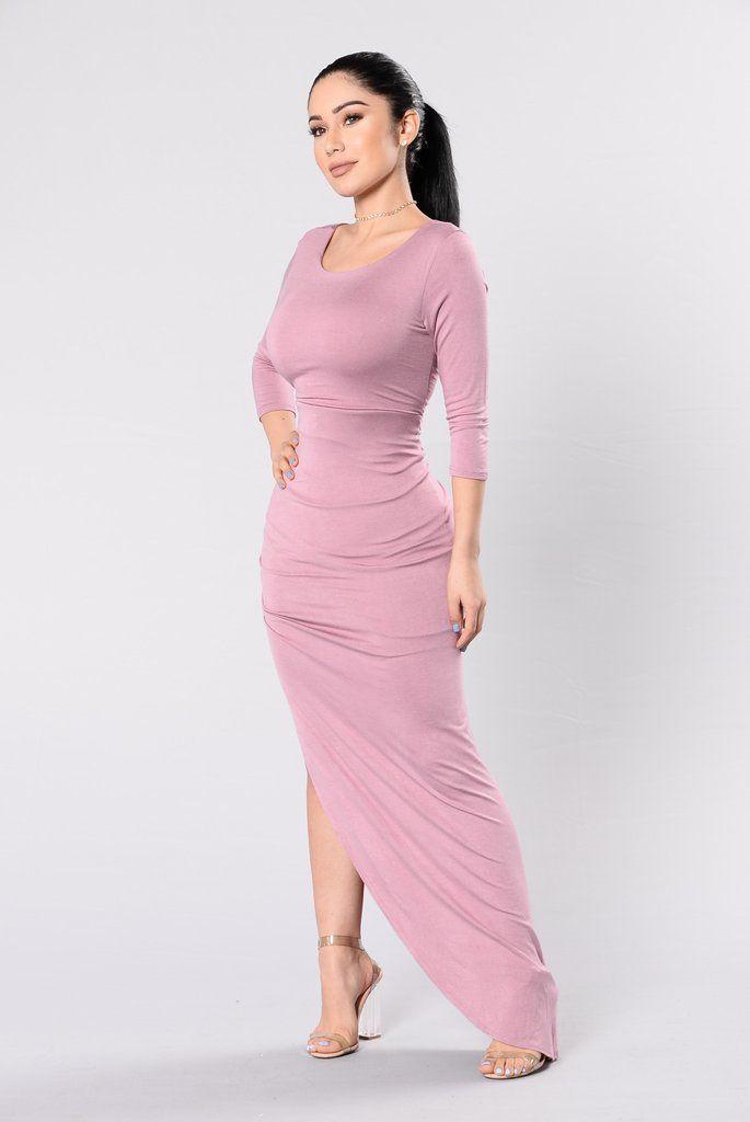 Think About Me Dress - Rose | Vestido largo, De época y Dama hermosa