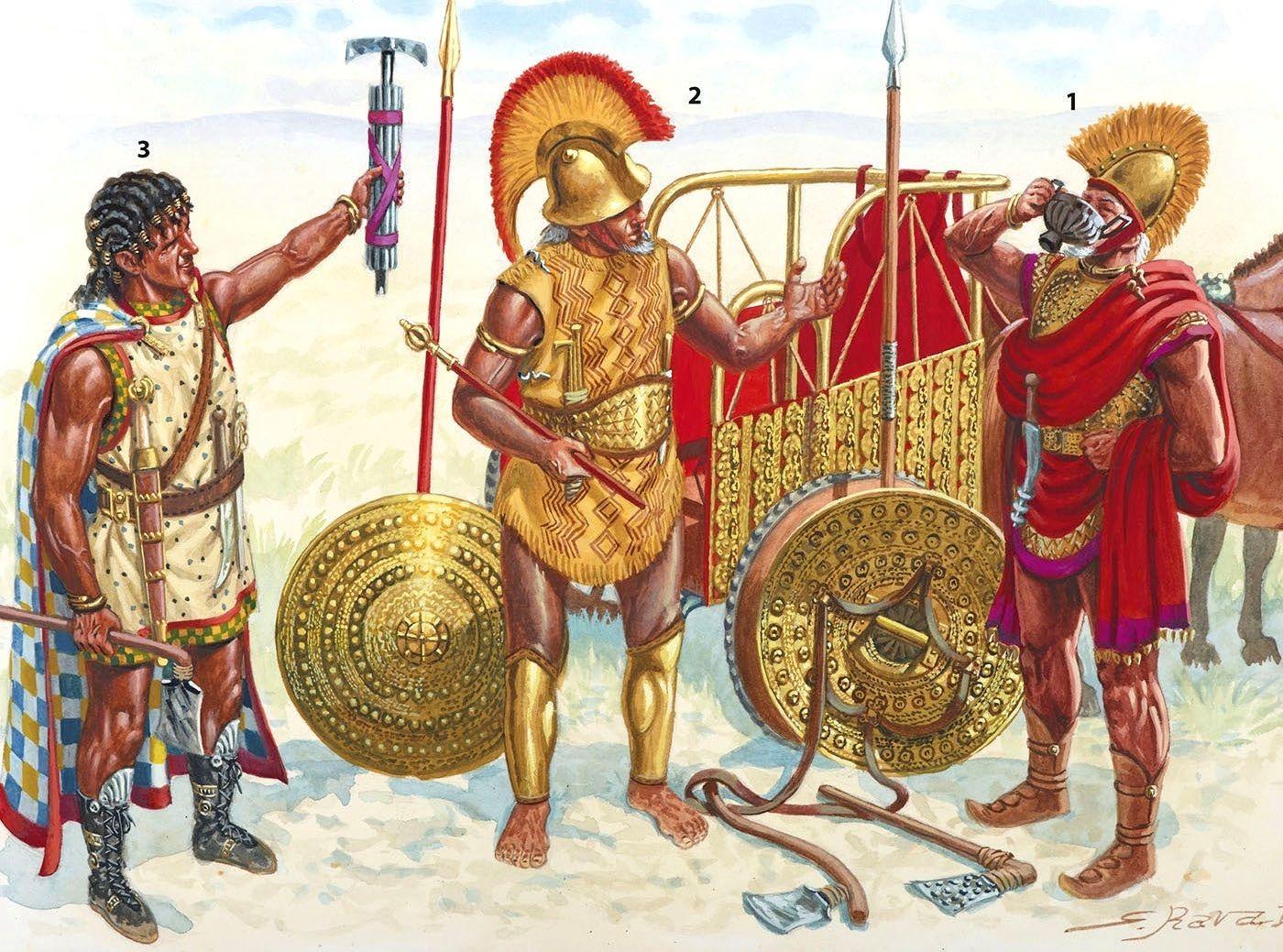 C Periodo Orientalizante Norte De Etruria Septimo Siglo Antes De Cristo 1 El Fallecido Lider De Villanova Ancient Warfare Greek Soldier Ancient Warriors