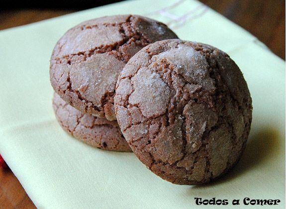 recetas galletas chocolate faciles